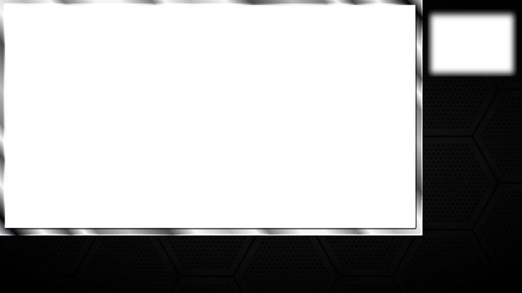 twitch layout template - free twitch overlays black with webcam free twitch