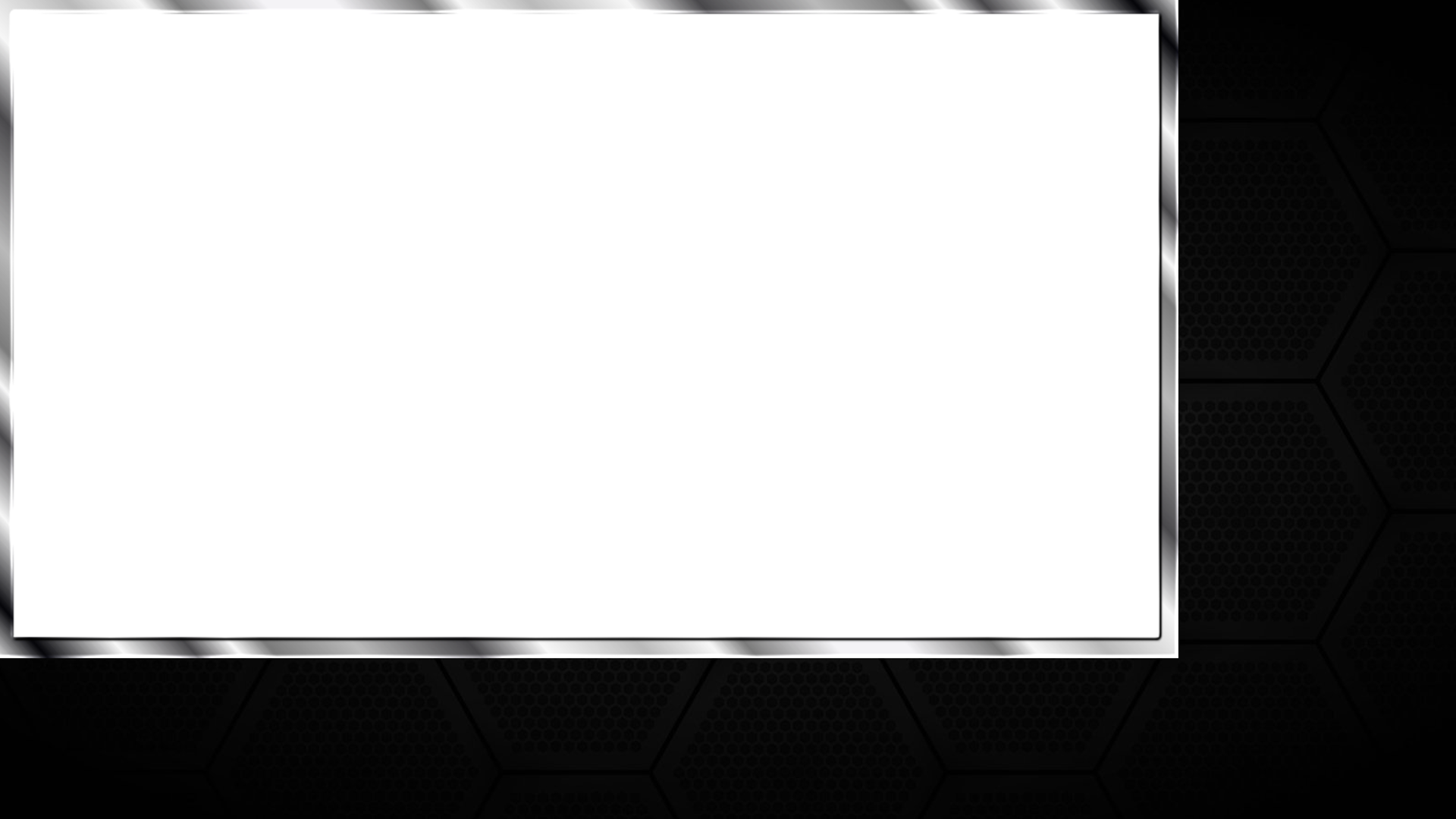 free twitch overlay template - twitch overlay generic black