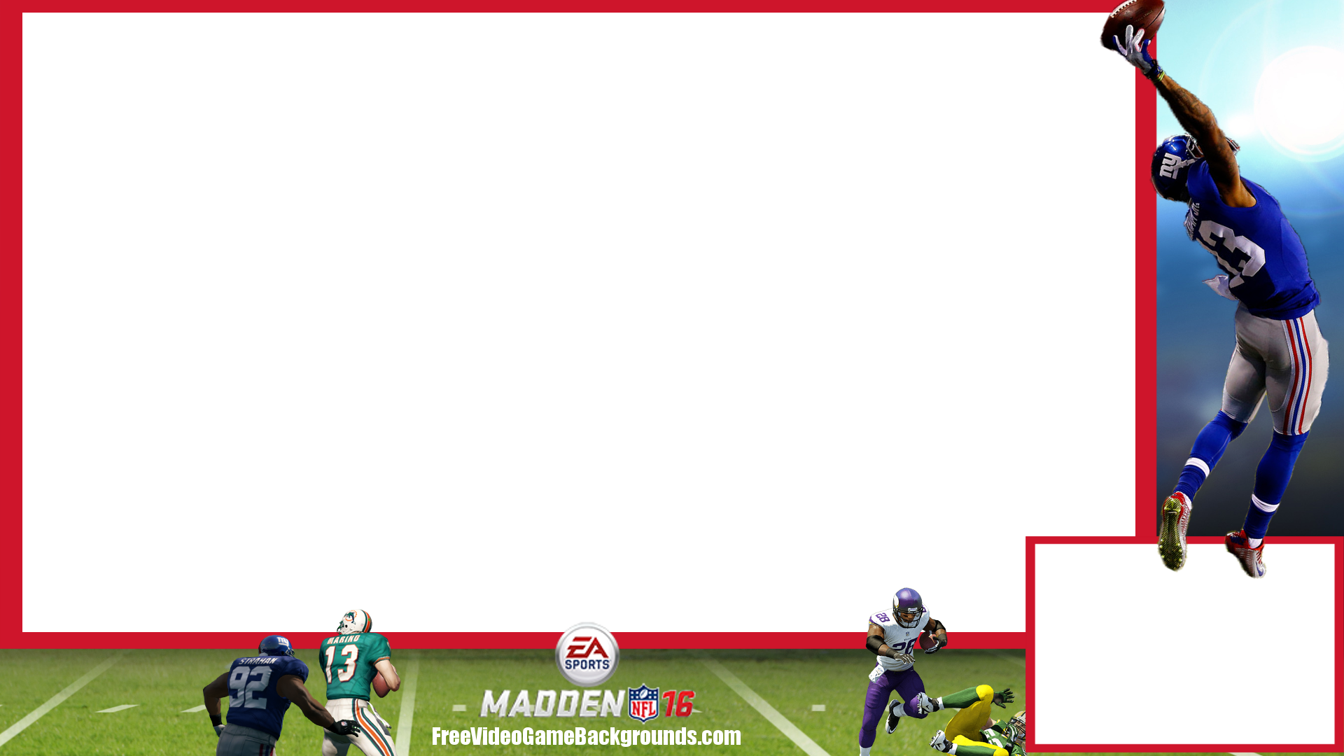 madden 16 twitch overlay