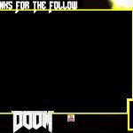 DOOM 4 Twitch Overlay | Free Twitch Overlay